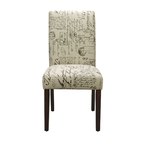 Dorel Living Blakely Script Parsons Chair & Reviews
