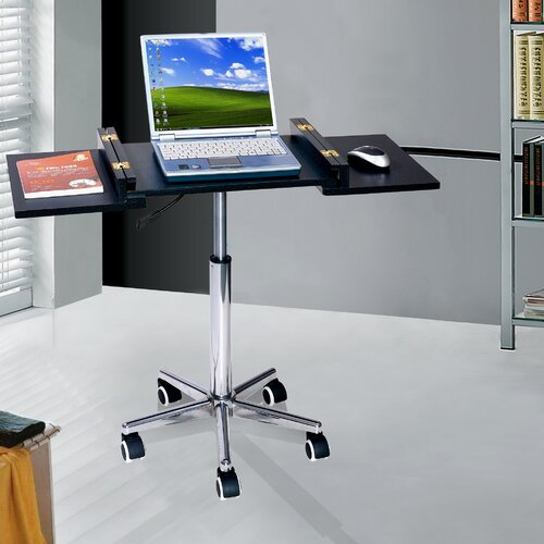 Techni Mobili Foldable Table Laptop Cart