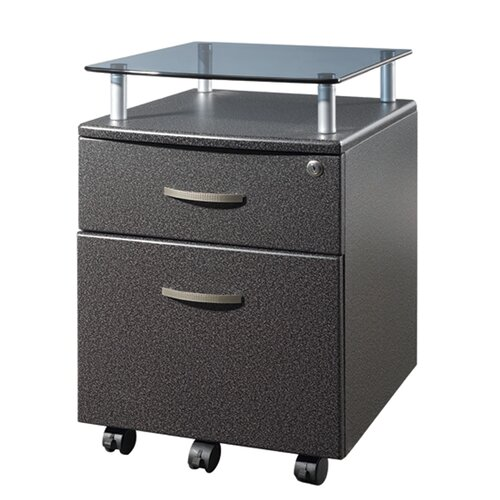 Techni Mobili 2-Drawer Mobile File Cabinet