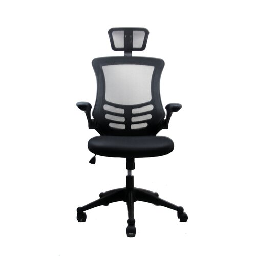 Techni Mobili High-Back  Executive Chair with Headrest
