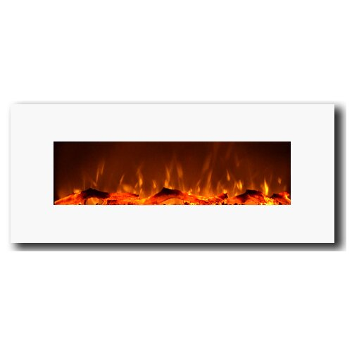 Touchstone 50 electric wall mounted fireplace reviews for 24 wall mount electric fireplace