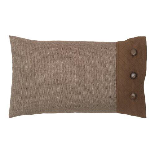 Throw Pillow Button Closure : Modern Living Baxter Polyester Side Button Closure Decorative Pillow & Reviews Wayfair