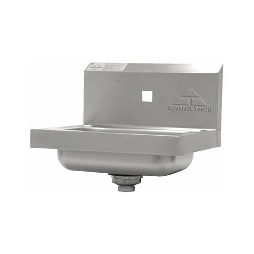 "Advance Tabco 17"" x 15"" Hand Sink"