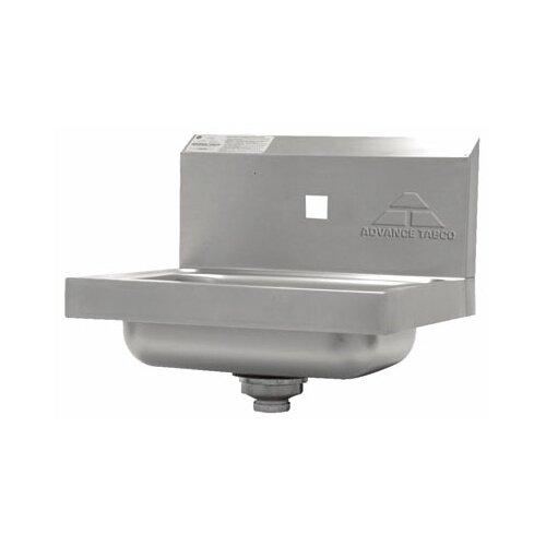 "Advance Tabco 17"" x 15"" Hand Sink"