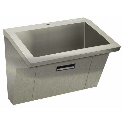 "Advance Tabco Wall Mount ADA Compliant 36"" x 20"" 1 Compartment Scrub Sink"