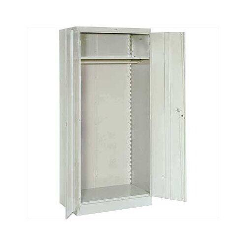 "Lyon Workspace Products 1000 Series 36"" Wide Wardrobe Cabinet:  78"" H x 36"" W x 24"" D"