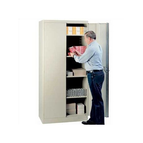 """Lyon Workspace Products Extra Shelf Set for 36"""" W x 21"""" D Storage Cabinets"""
