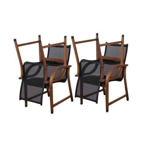 International Home Miami Amazonia Dining Arm Chairs (Set of 4)