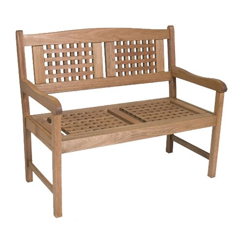 International Home Miami Porto Real Wood Garden Bench