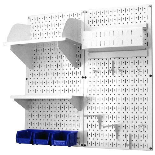 Wall Control Hobby Craft Pegboard Organizer Storage Kit