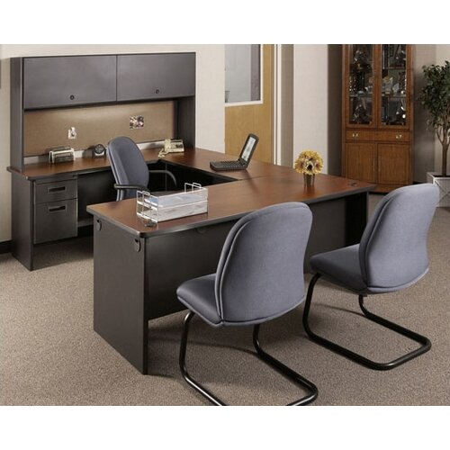 "Marvel Office Furniture Pronto 29""W Traditional Return"