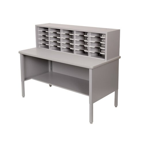 Marvel Office Furniture 25 Adjustable Slot Literature Organizer