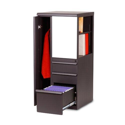 "Marvel Office Furniture Ensemble 24"" Personal Left Storage Binder Tower"