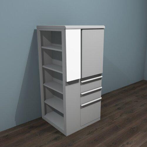 "Marvel Office Furniture Ensemble 24"" Personal Left Storage Shelf Tower"