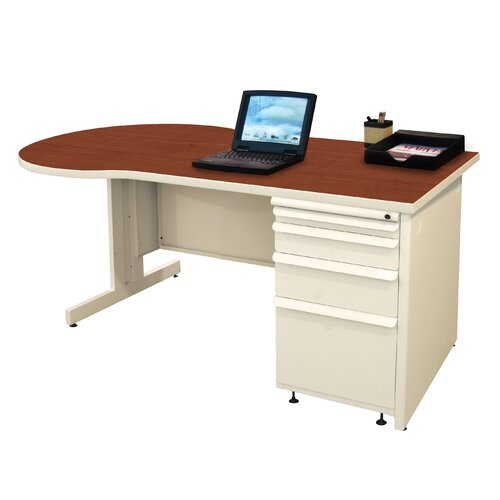 Marvel Office Furniture Zapf Teachers Executive Desk