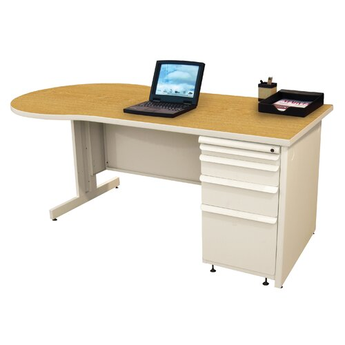 Marvel Office Furniture Zapf Teachers Executive Desk
