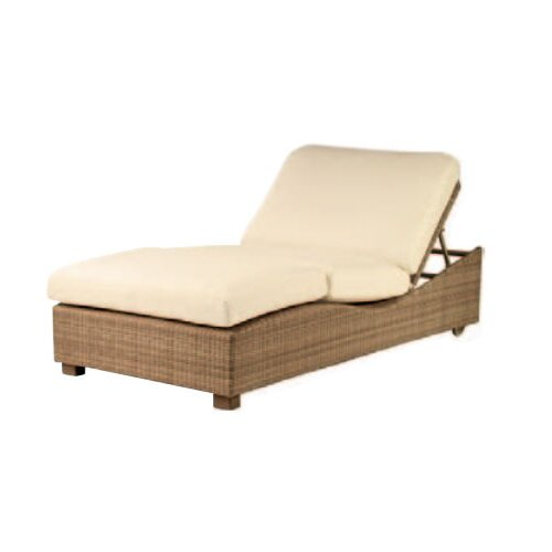 Saddleback Montecito Double Chaise Lounge with Cushion