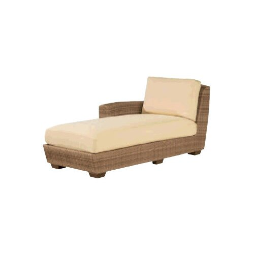 Saddleback Left Arm Chaise Lounge with Cushion