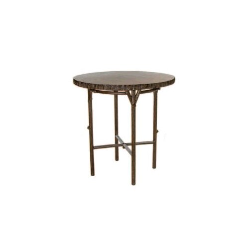 Chatham Run Heartwood Round Bar Table with Faux Top