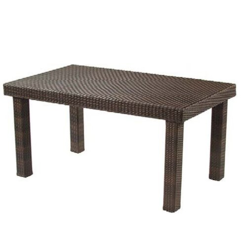 Whitecraft All-Weather Rectangular Woven Dining Table