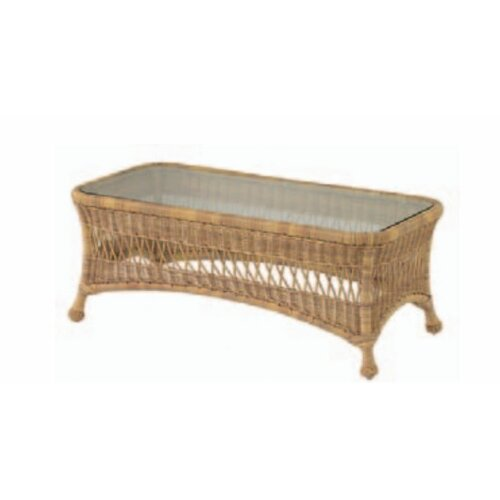 Whitecraft Sommerwind Cocktail Table with Glass Top
