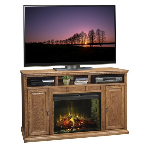 """Legends Furniture Scottsdale 62"""" TV Stand with Electric Fireplace"""