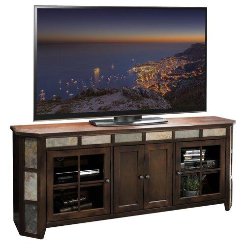 "Legends Furniture Fire Creek 72"" Angled TV Stand"