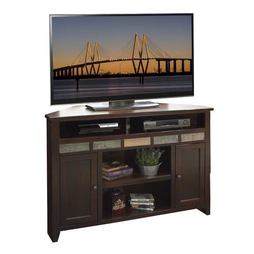 """Legends Furniture Fire Creek 56"""" Corner TV Stand"""