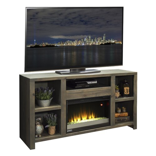 legends furniture joshua creek tv stand with electric