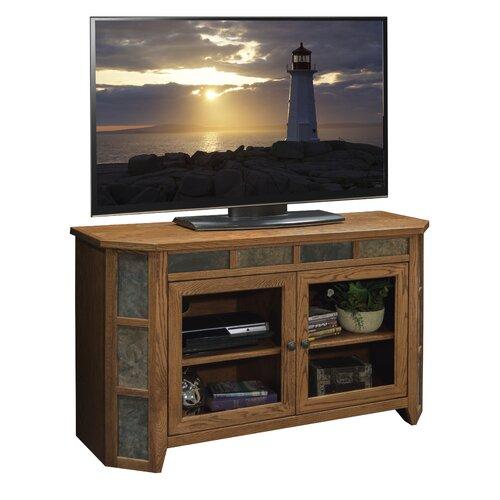 Legends furniture oak creek 51 tv stand reviews wayfair Oak tv stands