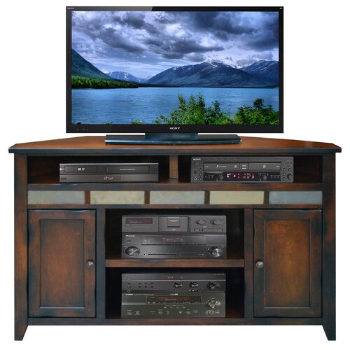 "Legends Furniture Fire Creek 56"" Corner TV Stand"