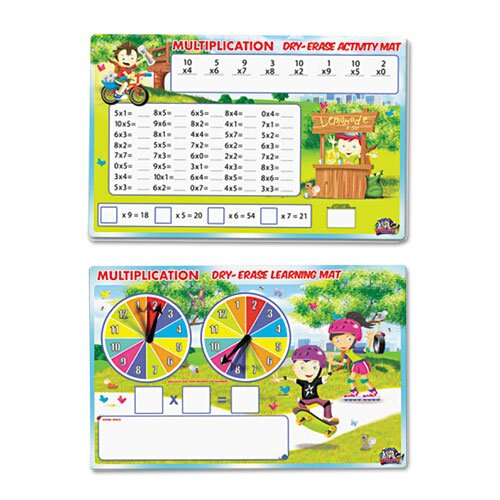 Smart Dudes Spinnerz Dry Erase Learning Mat