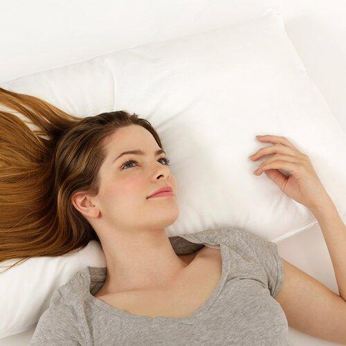 Dream Cloud Faux Silk Polyester Pillow
