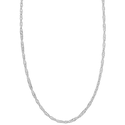 Sterling Essentials Sterling Silver Singapore Chain