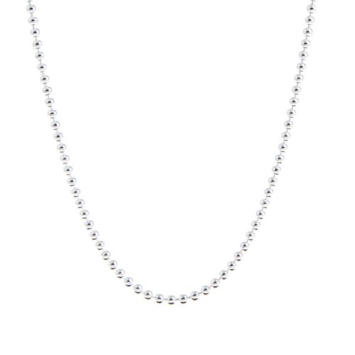 Sterling Silver 2mm Italian Ball Chain