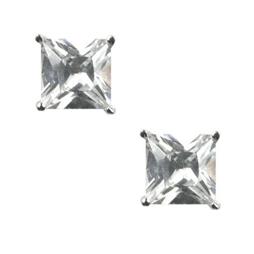 Sterling Essentials Sterling Silver Cubic Zirconia Stud Earrings