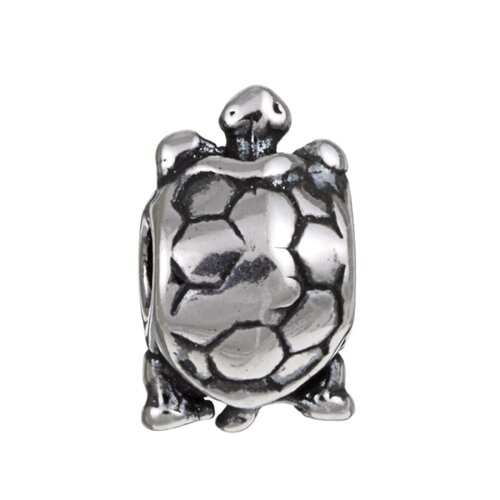 Sterling Essentials Signature Moments Sterling Silver Turtle Bead