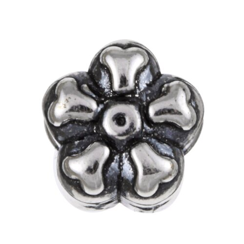 Sterling Essentials Signature Moments Sterling Silver Daisy Bead