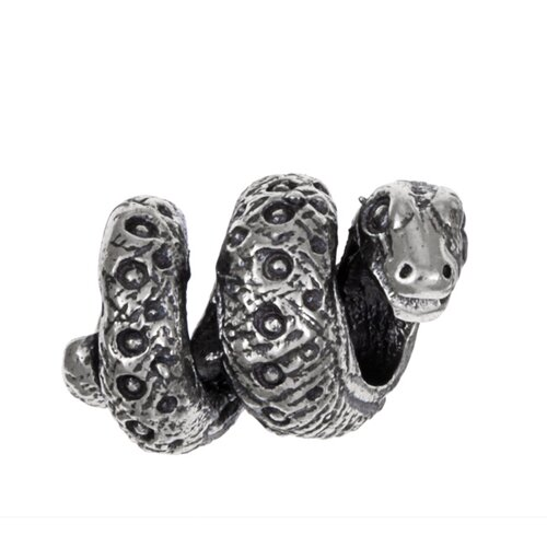 Sterling Essentials Signature Moments Sterling Silver Snake Bead