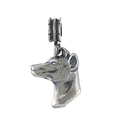 Signature Moments 16.5mm Doberman Dangle Charm