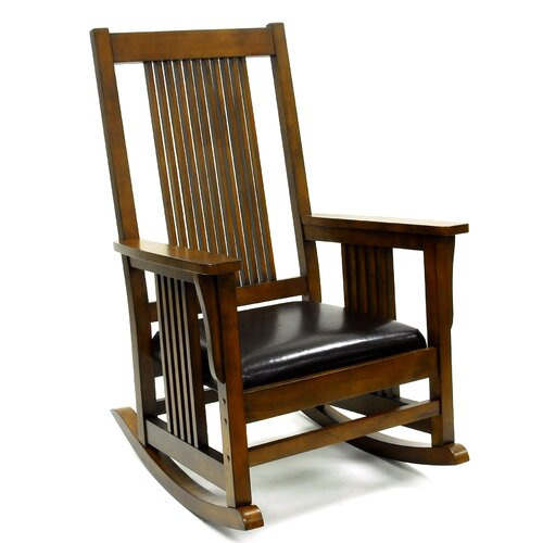 Carolina Cottage Mission Rocking Chair Amp Reviews Wayfair
