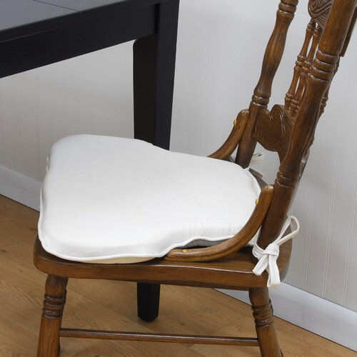 Carolina Cottage Tailor Made Press Back Style Chair Pad (Set of 2)