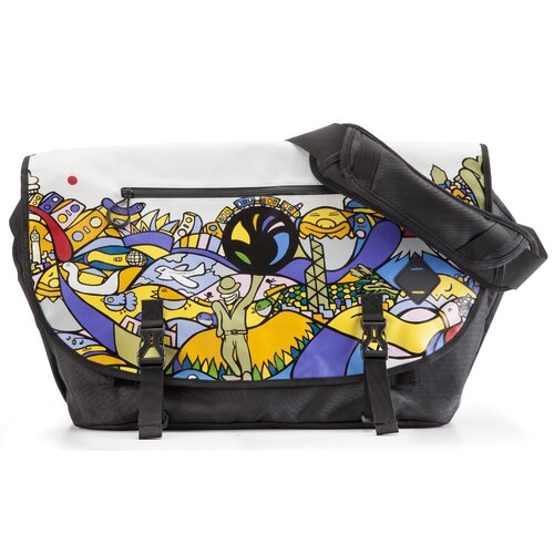 Transit Taxi Messenger Bag