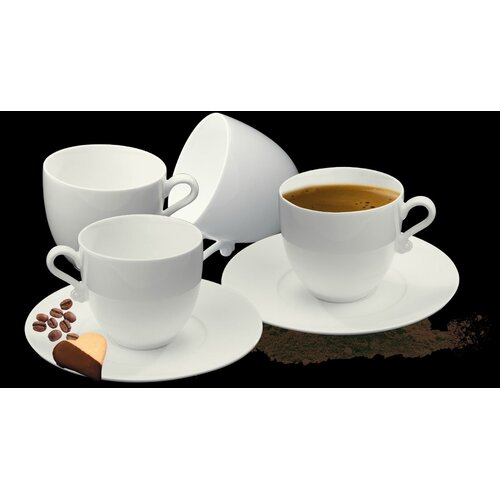 DeaGourmet Trame Espresso Cup and Saucer