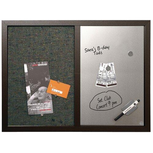 "Mastervision Combo 1' 6"" x 2' Bulletin Board"