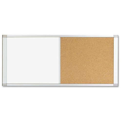 Mastervision combo cubicle whiteboard and bulletin board Cubicle bulletin board ideas