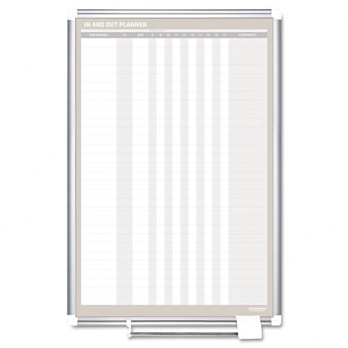 Mastervision In-Out Whiteboard