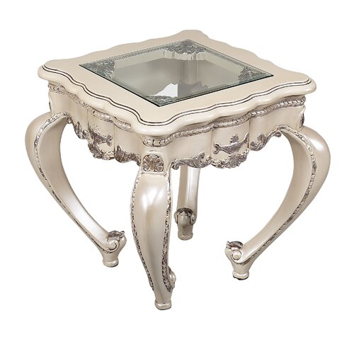 Benetti's Italia Cristaldo End Table
