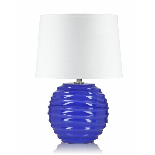 "Krush Spin 22"" H Cloud 9 Table Lamp"