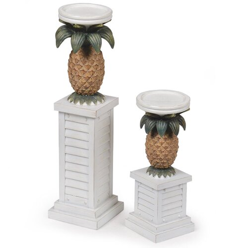 Island Way Pineapple Resin Candle Holder